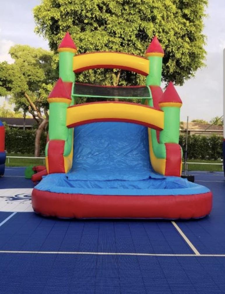 Castle Slide 15x30 $230