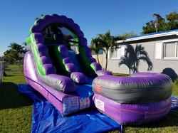Purple slide 14x20 $145