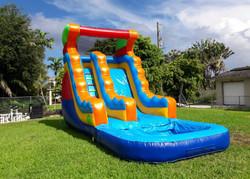 Rainbow Water Slide 18x26 $230
