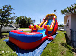 Red Water slide 20x32 $230