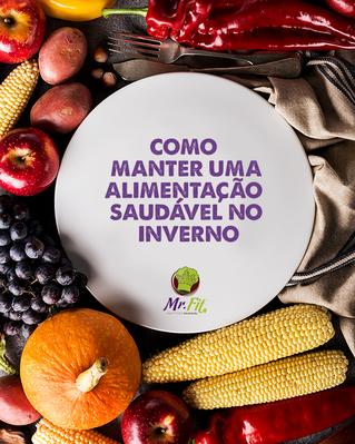 Como manter uma alimentação saudável no inverno!