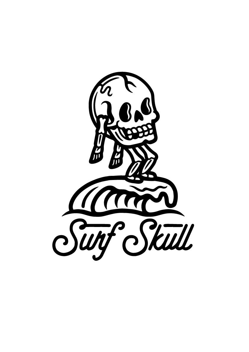 Surf Skull