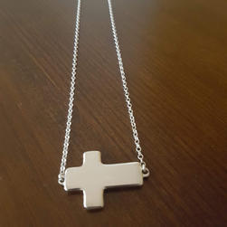 Custom Cross in Sterling Silver