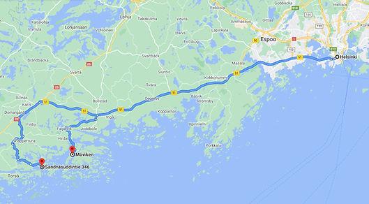Stromso Harbor Locations