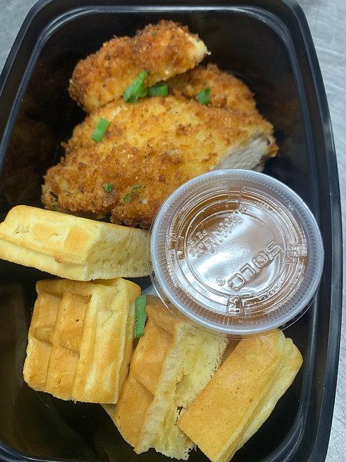 Breaded Chicken & Waffles