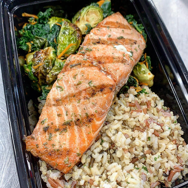 Garlic Herb Salmon