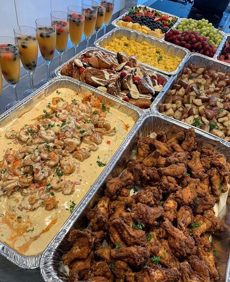 Personal Chef - Buffet Brunch Group