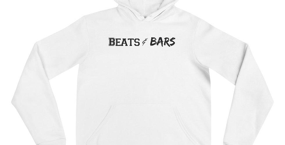 White n Black Unisex hoodie