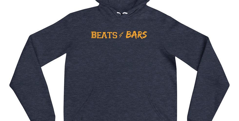 Heather Navy n Gold Unisex hoodie