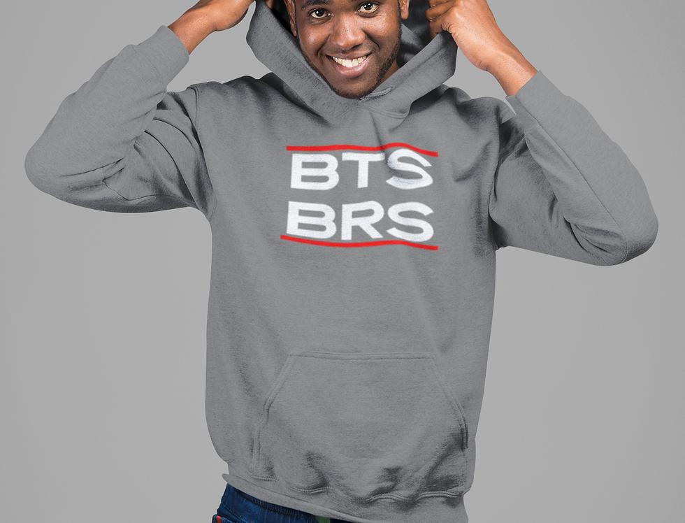 """""""Run BNB White"""" Unisex hoodie"""