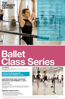 Ballet Class Series Poster