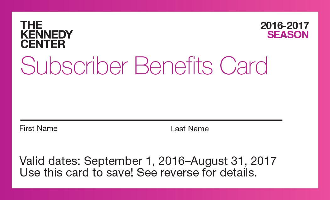 KC Subscriber Cards