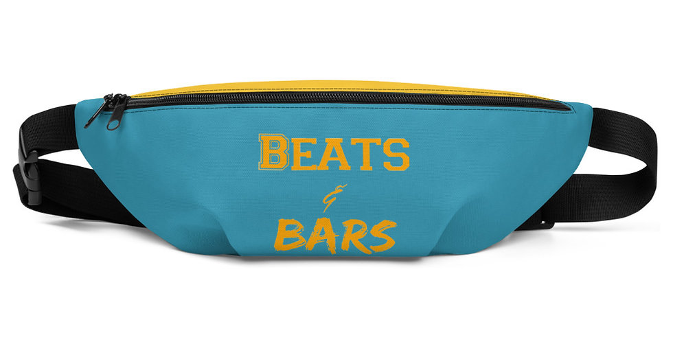 Gold and Teal Fanny Pack