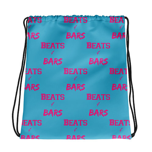 Hot Pink Drawstring bag