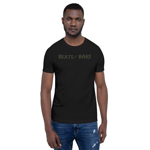 Beats & Bars Army Short-Sleeve Unisex T-Shirt