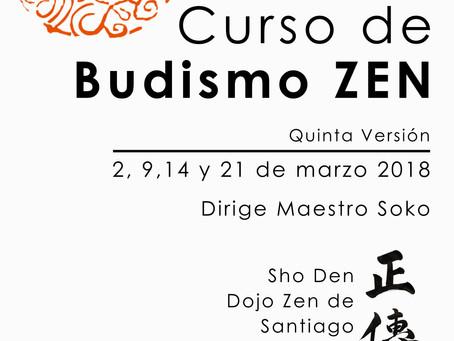 Curso de Budismo Zen Quinta Versión