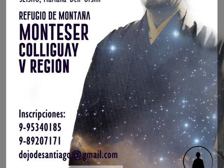 SESSHIN en Chile / 2 al 4 de dic 2016