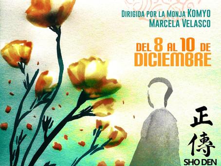 SESSHIN DE CHILE 8/12 - Retiro de meditación Zen