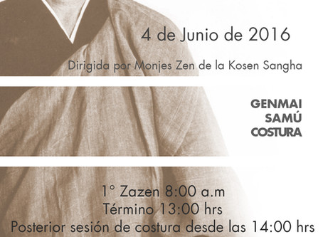 Jornada de Meditación Zen 4/6/2016