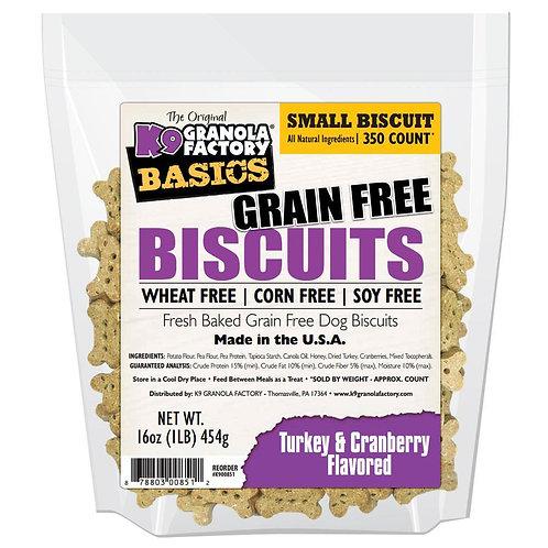 Grain Free Biscuits- Turkey & Cranberry