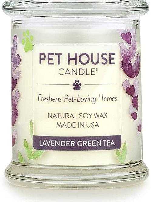 Lavender Green Tea Candle