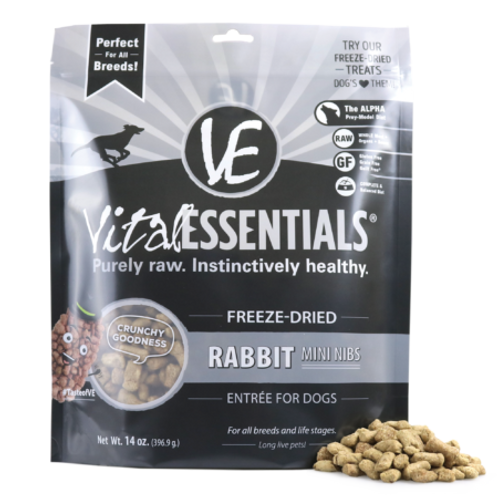 Freeze Dried Rabbit Mini Nibs