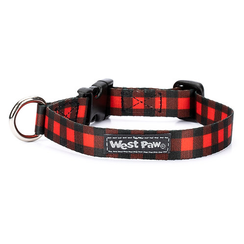 Red Check Collar