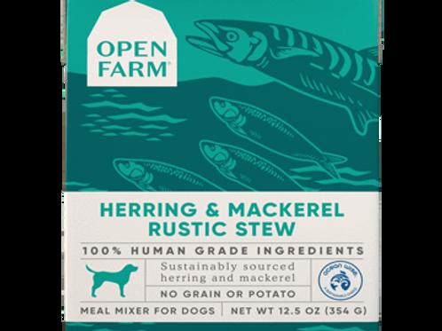 Rustic Stew- Herring & Mackerel