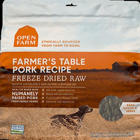 Farmer's Table Pork