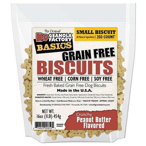 Grain Free Biscuits- Crunchy Peanut Butter