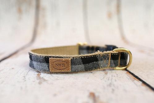 Grey Buffalo Plaid Collar