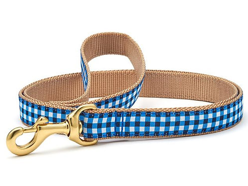 Navy Gingham Lead