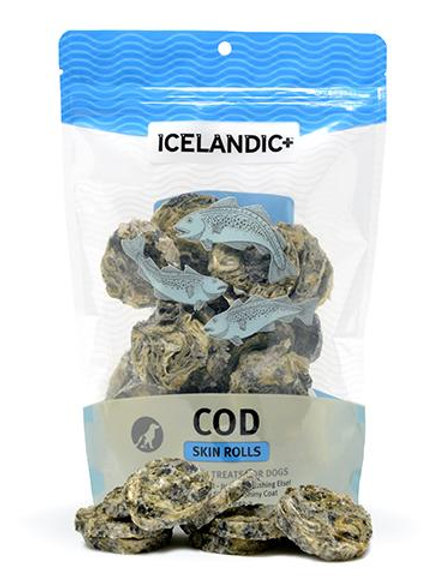 Cod Skin Rolls