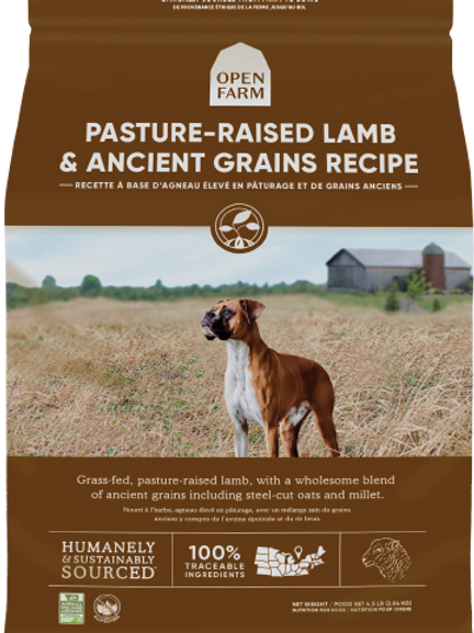 Ancient Grains- Pasture Raised Lamb