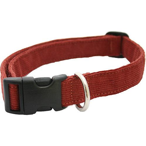 Rust Corduroy Collar