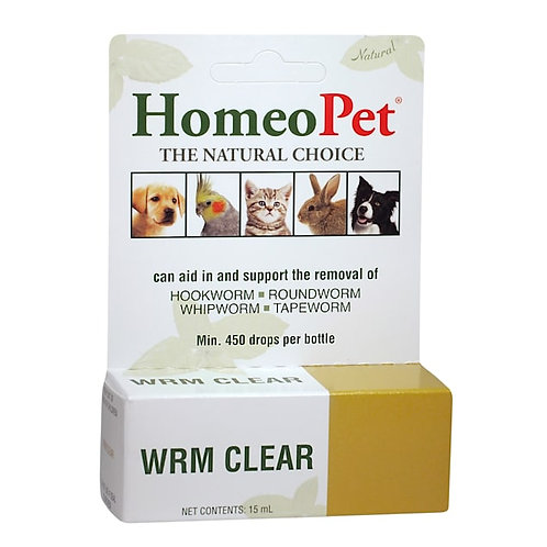 Homeopet Worm Clear