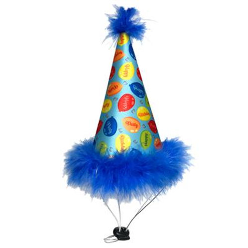 Party Time Blue- Party Hat