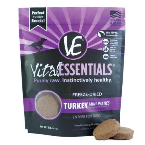 Freeze Dried Turkey Patties