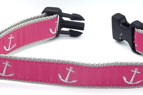 Pink Anchor Collar