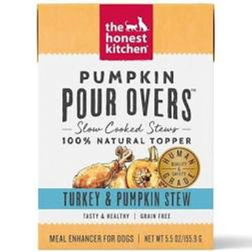 Pumpkin Pour Overs- Turkey & Pumpkin Stew