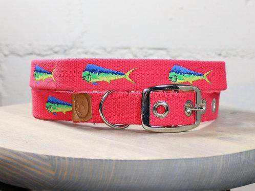 Pink Mahi Mahi Collar