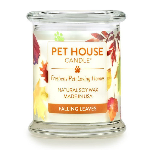 Falling Leaves Candle