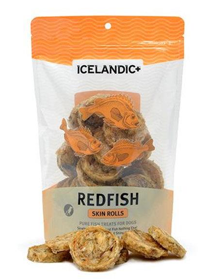 Red Fish Skin Rolls