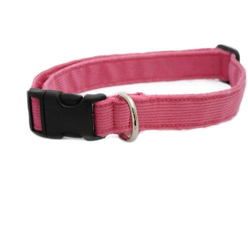 Pink Corduroy Collar