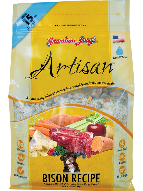 Artisan- Bison Recipe