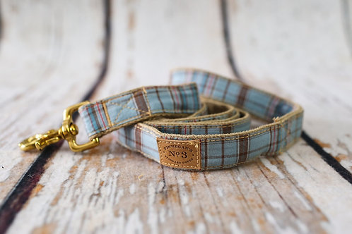 Light Blue Plaid Lead