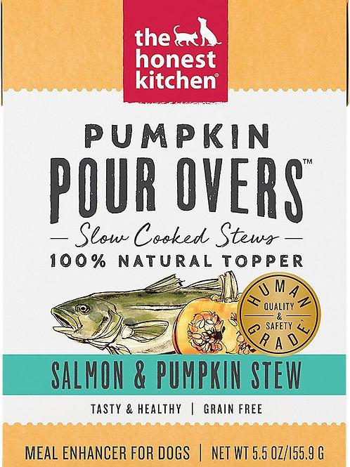 Pumpkin Pour Overs- Salmon & Pumpkin Stew