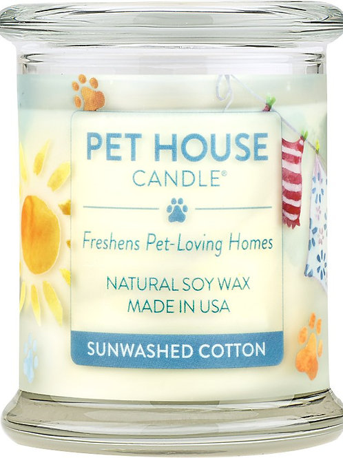 SunWashed Cotton Candle