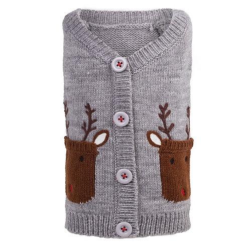 Reindeer Cardigan