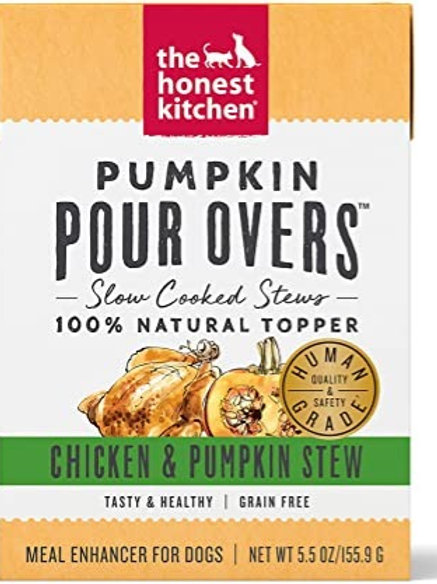 Pumpkin Pour Overs- Chicken & Pumpkin Stew